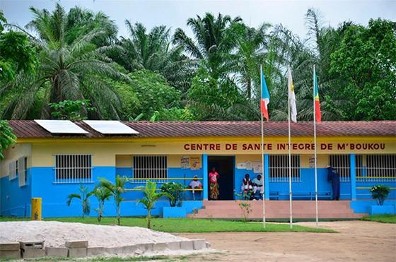 Centro medico del progetto integrato Hinda (Congo, M'Boukou)