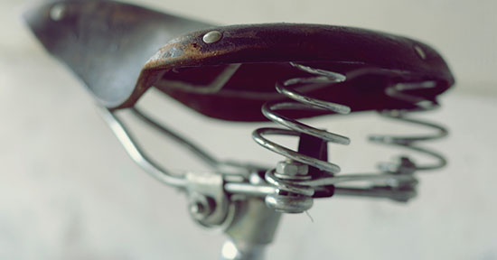 Sellino della bicicletta