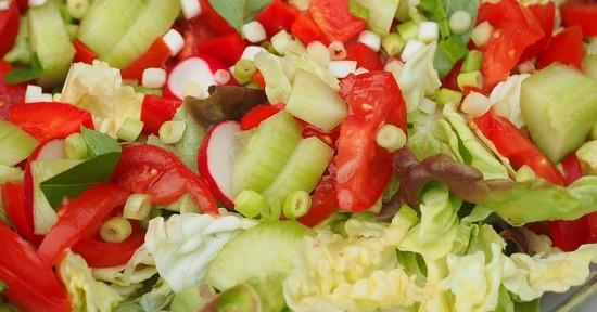 Verdura fresca mista
