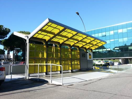 ENI concentratori solari luminescenti