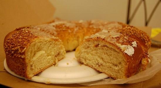 nut cream cake