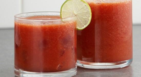 Blueberry Papaya Cucumber Juice