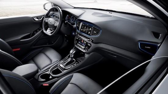 Hyundai Ioniq interni