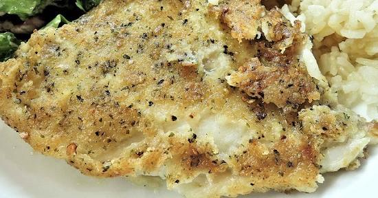 Pesce impanato