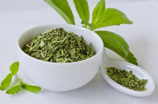 Stevia, foglie secche
