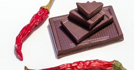 Cioccolato e peperoncino