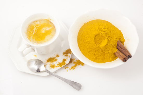 Golden Milk a base di curcuma