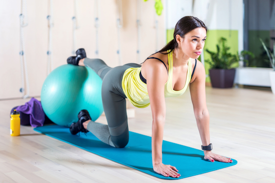 Pilates Matwork, allenamento