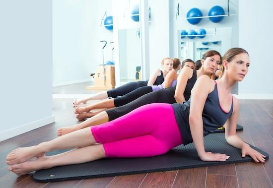 Pilates Matwork, gruppo