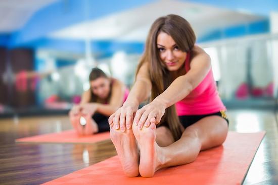 Pilates Matwork stretching