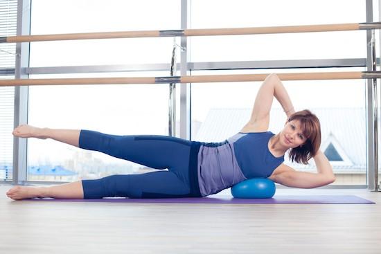 Pilates gambe esercizi