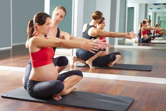 Pilates matwork in gravidanza