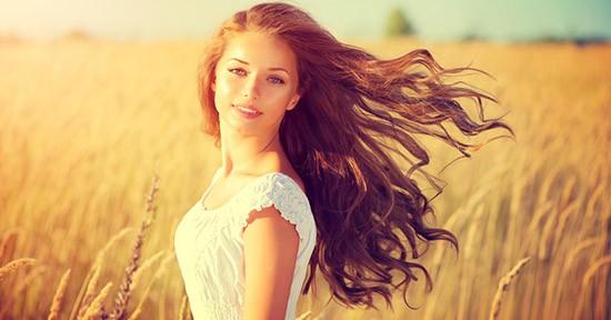 Olio d'oliva per capelli