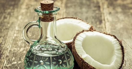 Cicatrizzanti naturali: Olio di cocco
