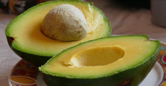 Avocado tagliato
