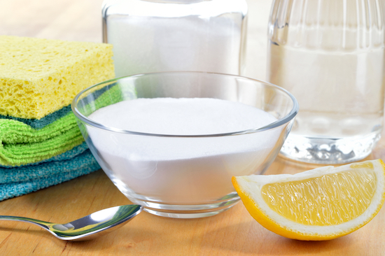 Bicarbonato e limone