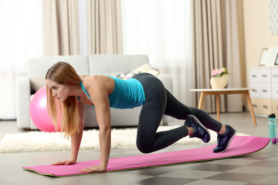 Pilates Matwork, donna