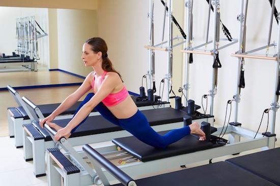 Pilates Reformer, esercizio