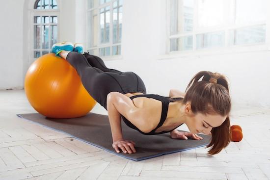 Pilates FitBall e Mat