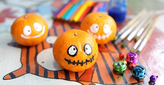 Arance di Halloween