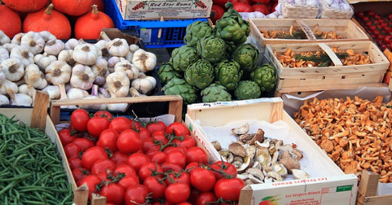 Carciofi e ortaggi