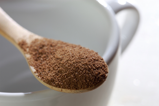 Caffè d'orzo in polvere