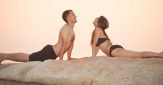Pilates in coppia