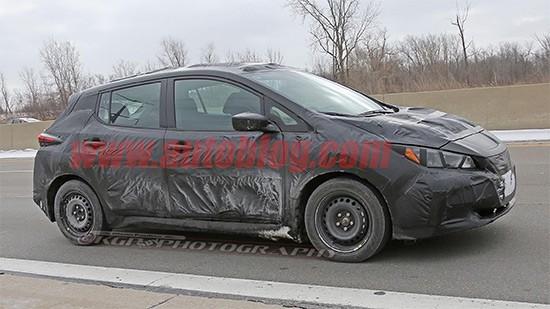 La Nissan Leaf di nuova generazione