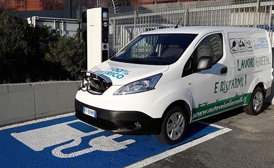 Nissan: ricarica veicoli elettrici