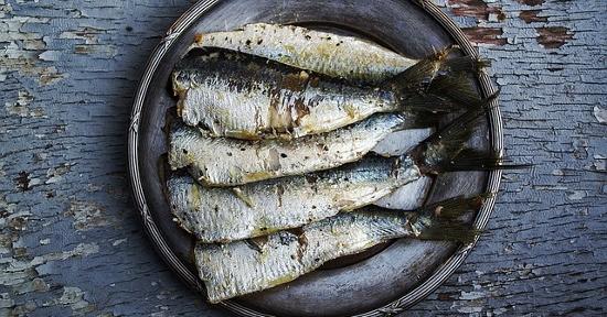 Alimenti ricchi di Vitamina D3: Sardine