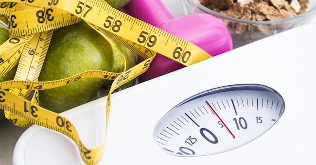 Dieta, bilancia