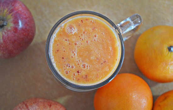 frullato detox arancia