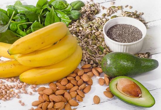 Magnesio, alimenti