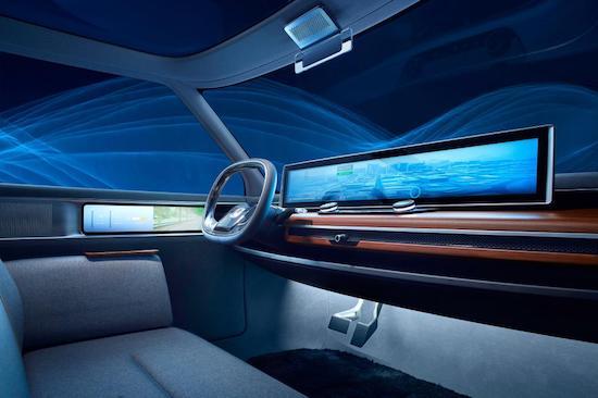 Honda Urban EV Concept, interni
