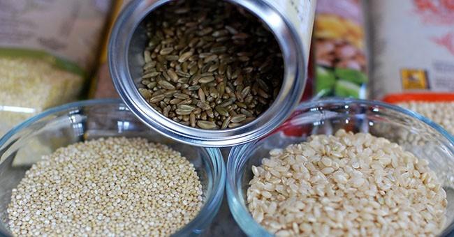 Riso selvatico e cereali