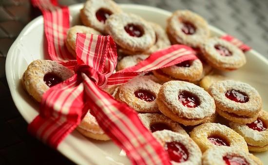 biscotti veg con marmellata