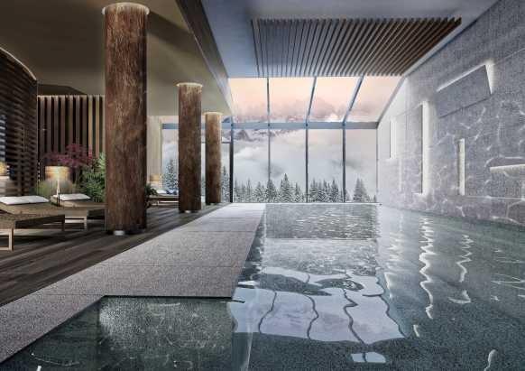 Lefay_Resort_SPA_Dolomiti_ Piscina_interna