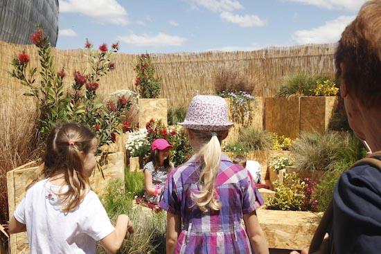Bambini al Festival del Verde e del Paesaggio