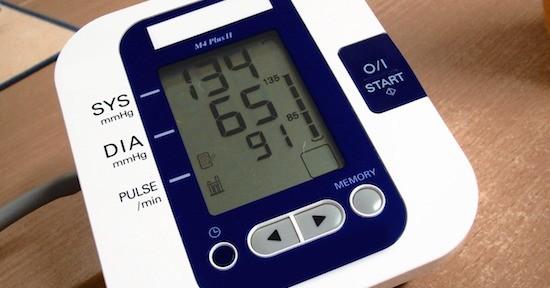 Misuratore battito e pressione
