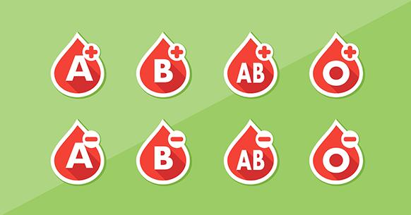 La dieta corretta per ogni Gruppo sanguigno