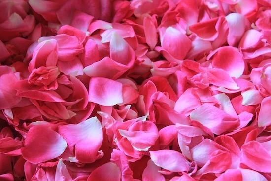 Petali di rosa, potpourri