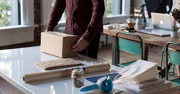 Riciclo scatole