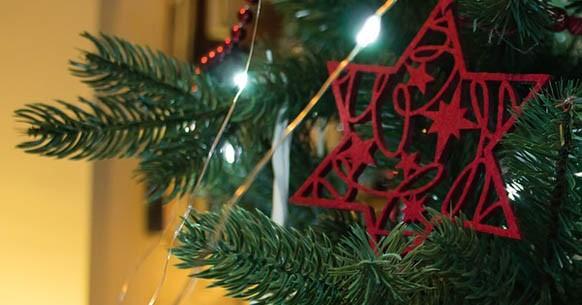 Decoro albero di Natale