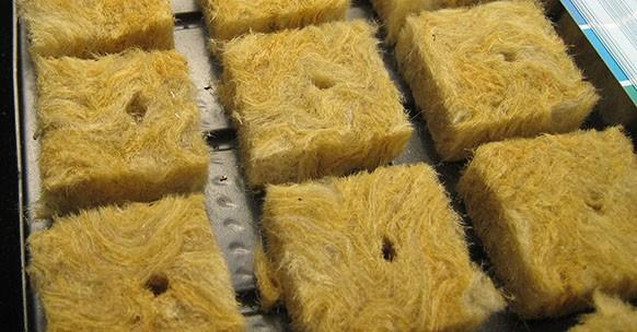 Cubi di lana di roccia