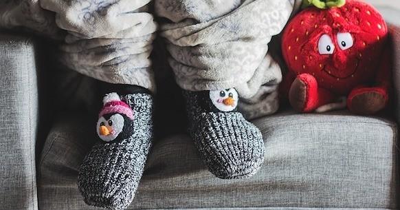 Piedi freddi sul divano