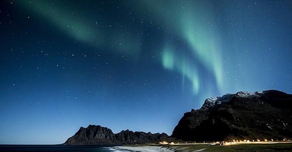 Aurora boreale Isole Lofoten