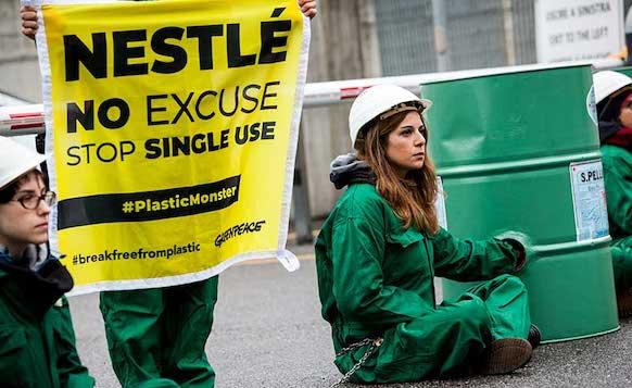 Greenpeace Nestle San Pellegrino