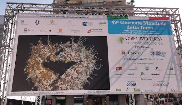 Obiettivo Terra 2019, piazza Barberini