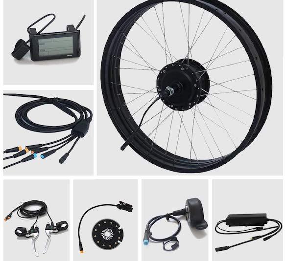 TZIPower kit bici elettrica