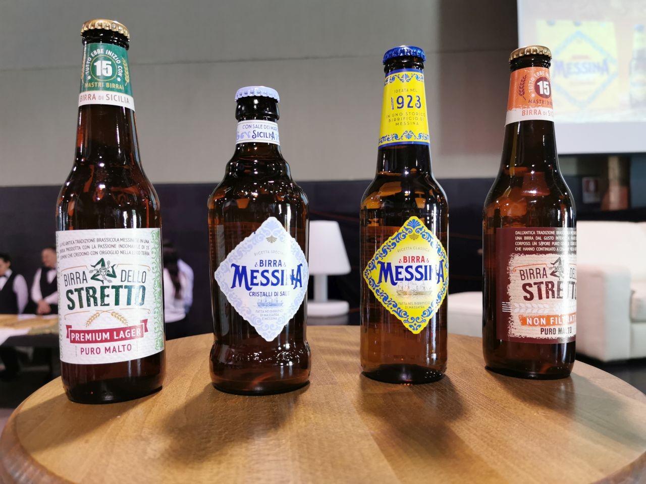 Birra Messina: tutte le bottiglie in commercio